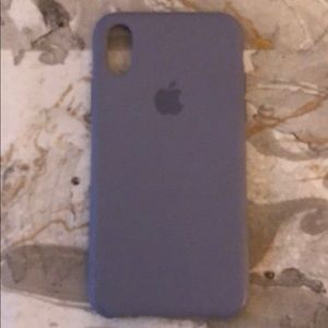 Authentic Apple iPhone X/XS silicone case